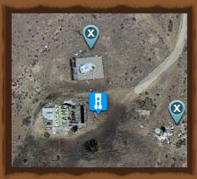 Map Of Koa Arizona.Two Guns Koa Campground Arizona Ghost Towns Of Arizona And