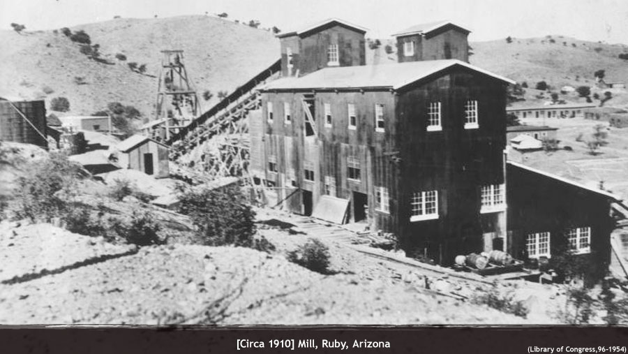 Ruby Arizona Map.Ruby Mining Ghost Town Arizona Ghost Towns Of Arizona And
