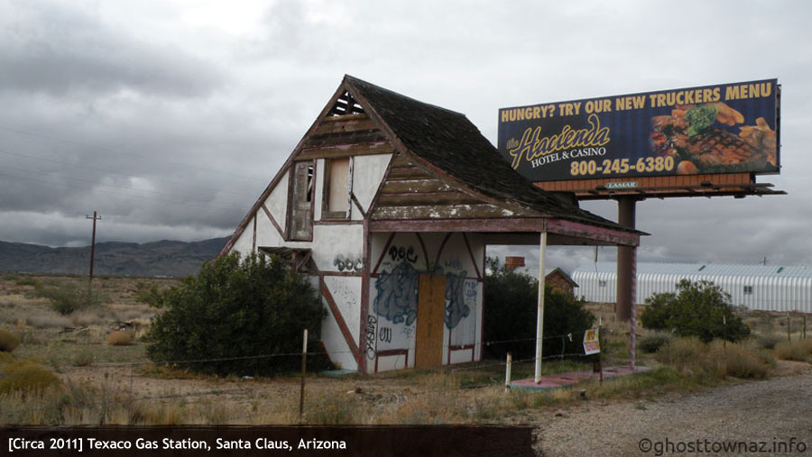 Christmas Tree Inn Santa Claus Arizona Ghost Towns Of Arizona