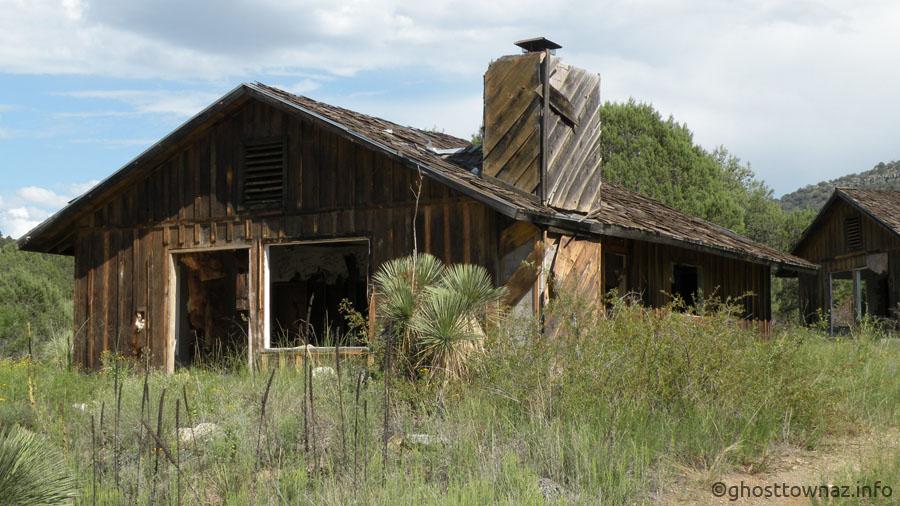 Seneca Lake Trading Post and Resort Ghost Town, Arizona